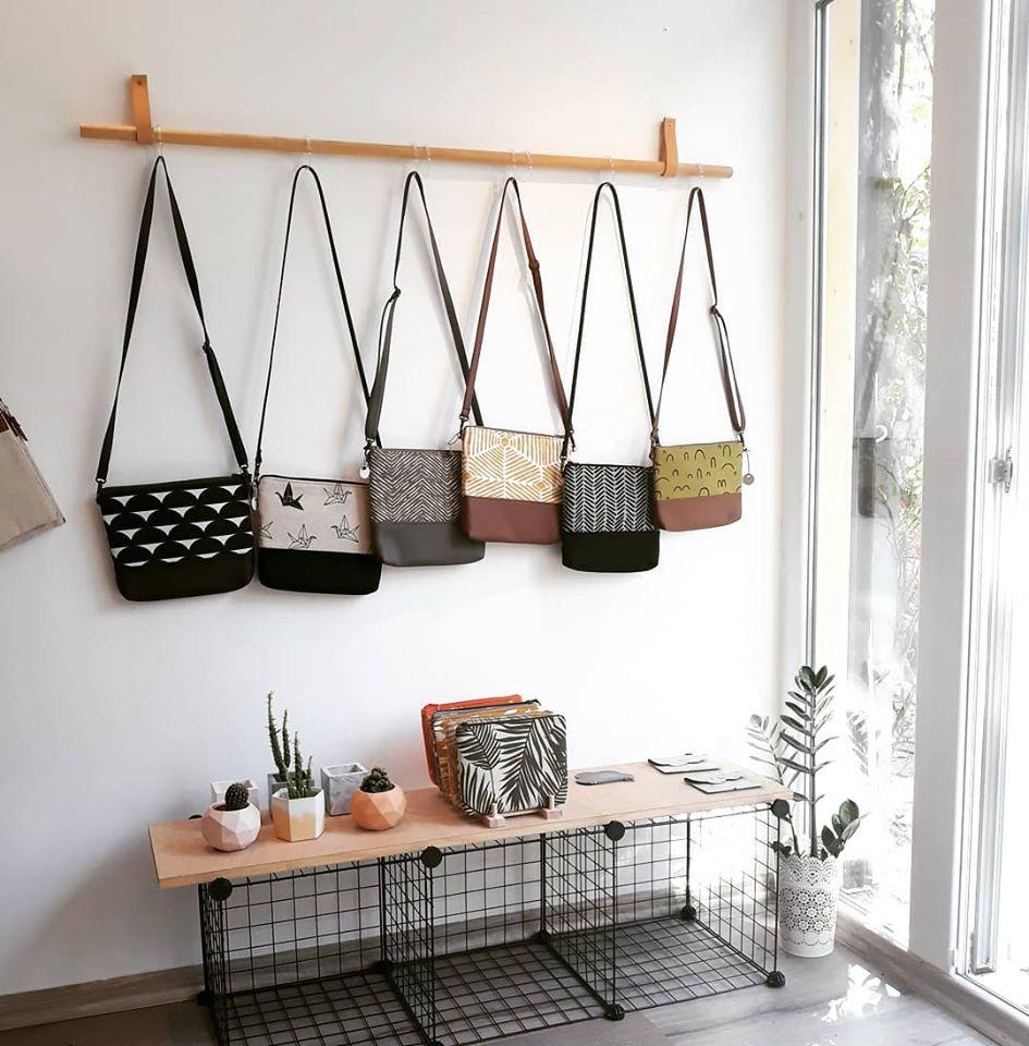 Ръчно правени чанти Hello Violeta