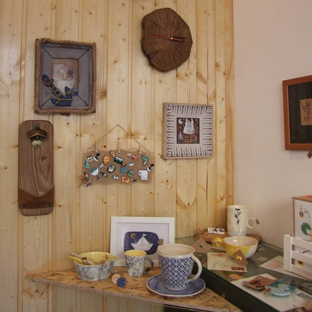 Магазин Мечтатели Art Shop в София