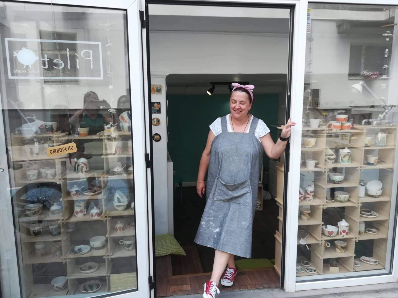 Семейно ателие-магазин за авторска керамика Pileto